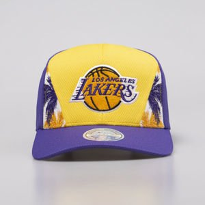 Mitchell & Ness snapback Los Angeles Lakers yellow/purple DNA 110 Snapback