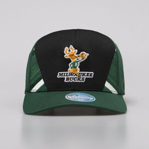 Mitchell & Ness snapback Milwaukee Bucks black/green DNA 110 Snapback