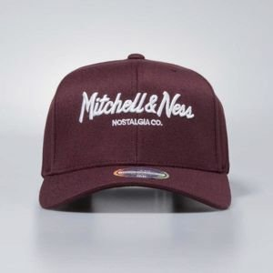 Mitchell & Ness snapback Own Brand maroon Pinscript High Crown110