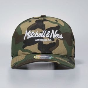 Mitchell & Ness snapback Own Brand woodland camo Pinscript High Crown110