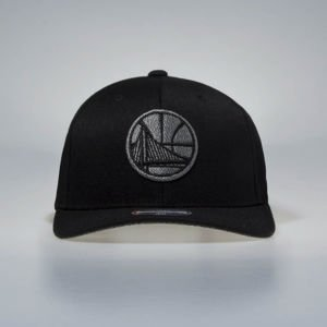 Mitchell & Ness snapback cap Golden State Warriors black Melange Logo 110 SB