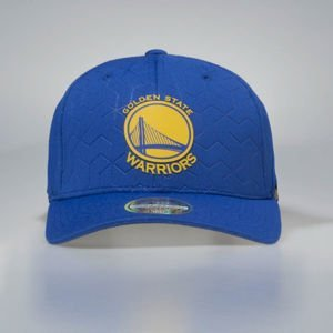 Mitchell & Ness snapback cap Golden State Warriors blue Debossed Stretch SB