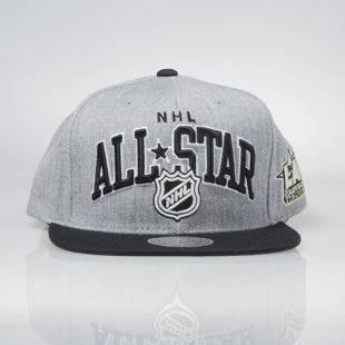 Mitchell & Ness snapback cap NHL All Star Game grey / black All Star Game Arch 462VZ