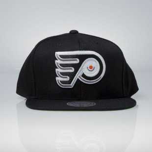 Mitchell & Ness snapback cap Philadelphia Flyers black Wool Solid / Solid 2 NT81Z
