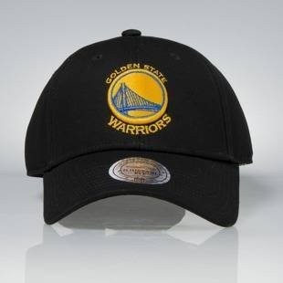 Mitchell & Ness strapback Golden State Warriors black Team Logo Low Pro