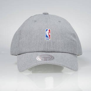 Mitchell & Ness strapback Logo grey HUD011 NBA Logo Low Pro