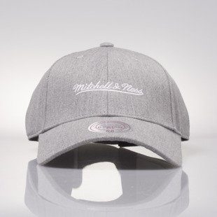 Mitchell & Ness strapback M&N Own Brand grey hather Team Logo Low Pro