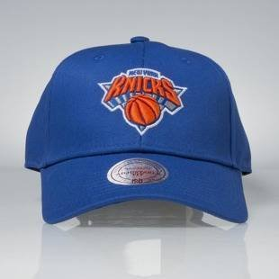 Mitchell & Ness strapback New York Knicks royal Team Logo Low Pro