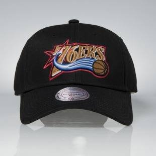 Mitchell & Ness strapback Philadelphia 76ers black Team Logo Low Pro