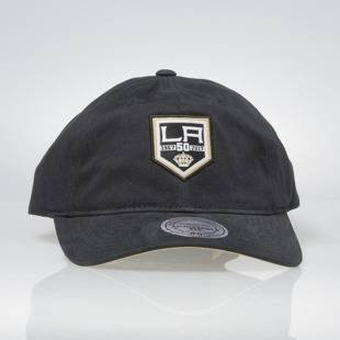 Mitchell & Ness strapback cap Los Angeles Kings black QD01Z 50Th Curved Visor