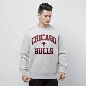 Mitchell & Ness sweatshirt Chicago Bulls Crewneck grey heather  PlayOff Win