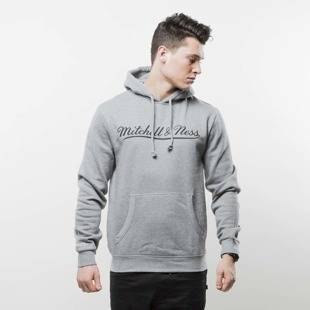 Mitchell & Ness sweatshirt Own Brand Hoody grey / black M&N Script Pullover