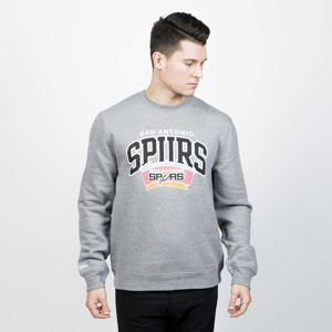 Mitchell & Ness sweatshirt San Antonio Spurs Crewneck grey Team Arch