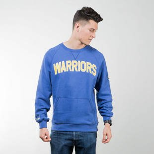 Mitchell & Ness sweatshirt crewneck Golden State Warriors royal Training Room