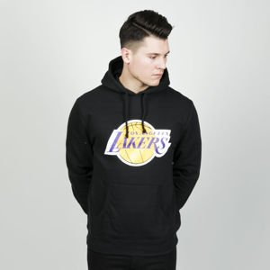 Mitchell & Ness sweatshirt hoody Los Angeles Lakers hoody black TEAM LOGO