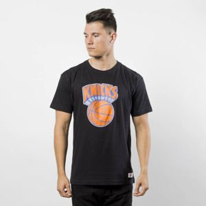 Mitchell & Ness t-shirt New York Knicks black Team Logo Traditional