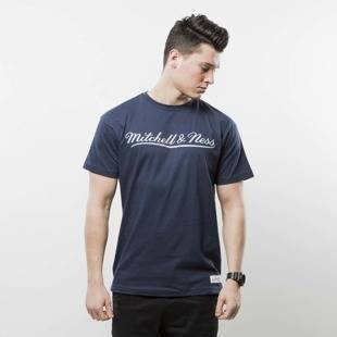 Mitchell & Ness t-shirt Own Brand navy / grey M&N Script Logo