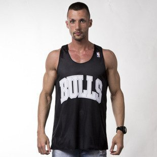 Mitchell & Ness tank top Chicago Bulls white / black REVERSE MESH