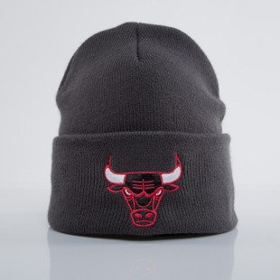 Mitchell & Ness visor beanie Chicago Bulls charcoal Team Logo Cuff EU785
