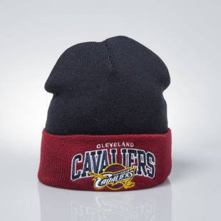 Mitchell & Ness winter baenie Cleveland Cavaliers black / burgundy Arched Cuff Knit
