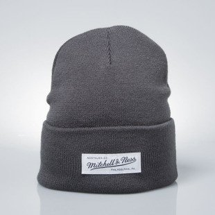 Mitchell & Ness winter baenie M&N charcoal Nostalgia Cuff Knit