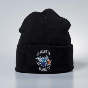 Mitchell & Ness winter beanie Charlotte Hornets black Team Logo Cuff