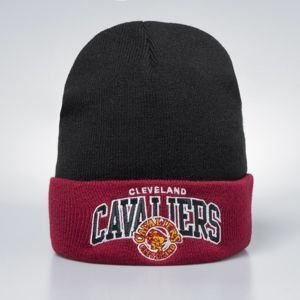 Mitchell & Ness winter beanie Cleveland Cavaliers black / burgundy Team Logo Cuff