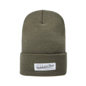 Mitchell & Ness winter beanie M&N Nostalgia hiking green