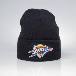 Mitchell & Ness winter beanie Oklahoma City Thunder navy Team Logo Cuff EU785
