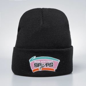 Mitchell & Ness winter beanie San Antonio Spurs black Team Logo Cuff