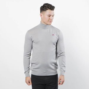 Nelson Turtleneck Knit Men grey melange