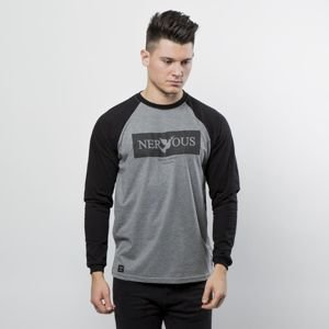 Nervous longsleeve Brand Box grey / black