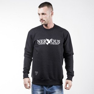 Nervous sweatshirt Classic crewneck black