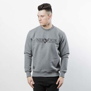 Nervous sweatshirt Crew SP18 Classic grey