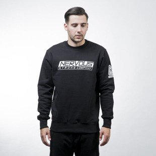 Nervous sweatshirt crewneck Line black
