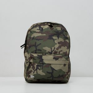 New Era Logo NE Backpack woodland camo