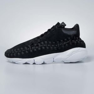 Nike Air Footscape Woven Chukka black / black-white 443686-004