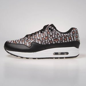 Nike Air Max 1 Premium black/white-total orange (875844-009)