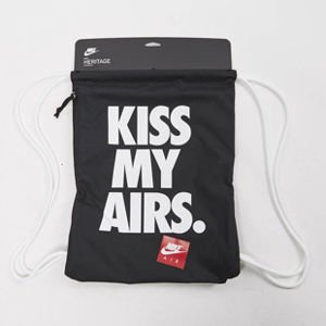 Nike Heritage Graphic Kiss My Airs Gymsack black BA5431-011