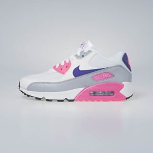 Nike WMNS Air Max 90 white/court purple-wolf grey (325213-136)