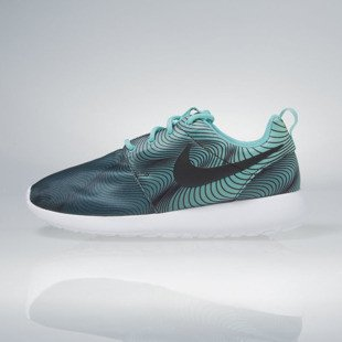 Nike WMNS Roshe One Print washed teal / green glow 844958-301