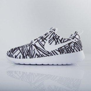 9cd6e1158855 Nike WMNS Roshe One Print white   white - black (599432-110)