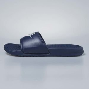 Nike sliders Benassi JDI midnight navy / windchill 343880-403