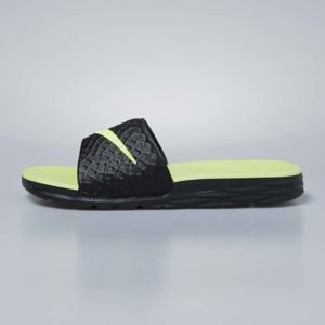 Nike sliders Benassi Solarsoft black / volt 705474-070