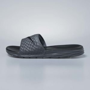Nike sliders Benassi Solarsoft dark grey / black 705474-090