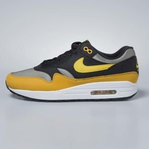 Nike sneakers Air Max 1 dark stucco / vivid sulfur - black AH8145-001