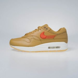 Nike sneakers WMNS Air Max 1 PRM wheat/team orange-gum yellow (454746-701)