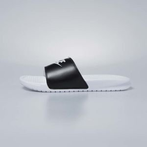 Nike women sliders Benassi JDI white / pure platinum - black 343881-104
