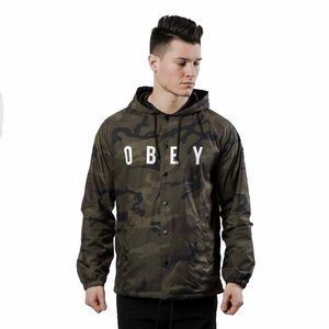 Obey Anyway Jacket camo