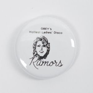 Obey Hottest Ladies Disco Pin